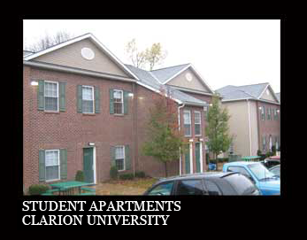 Clarion University Student Apartments by Ligo Architects