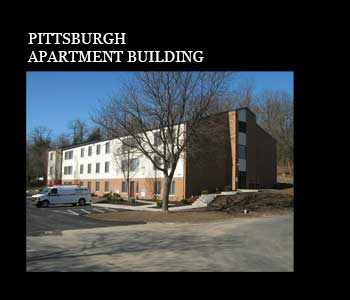 Pittsburgh Apartment Building by Ligo Architects